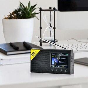 Image 4 - Przenośny Bluetooth 5.0 Radio cyfrowe DAB/DAB + i odbiornik FM akumulator lekka biuro w domu Radio