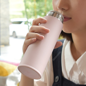 Image 5 - Xiaomi Mijia 350ml נירוסטה מים בקבוק קל משקל תרמוס ואקום מיני כוס קמפינג נסיעות נייד מבודד כוס ספורט