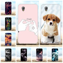 For Alcatel 1 2019 Case Ultra-slim Soft TPU Silicone Cover Cartoon Patterned Bumper Coque