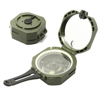 Outdoor Professional Survival Geological Transit Compass Measuring Slope Scale New Chic harbin slim line pocket transit h dql 2a dql 2a dql2a geological compass