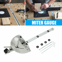 Miter Gauge Router Sawing Accessories Rulers Durable for Woodworking DIY Tools L9