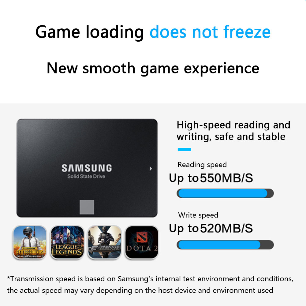 SAMSUNG SSD 860 EVO 250GB 500GB Internal Solid State Disk HDD Hard Drive SATA3 2 5