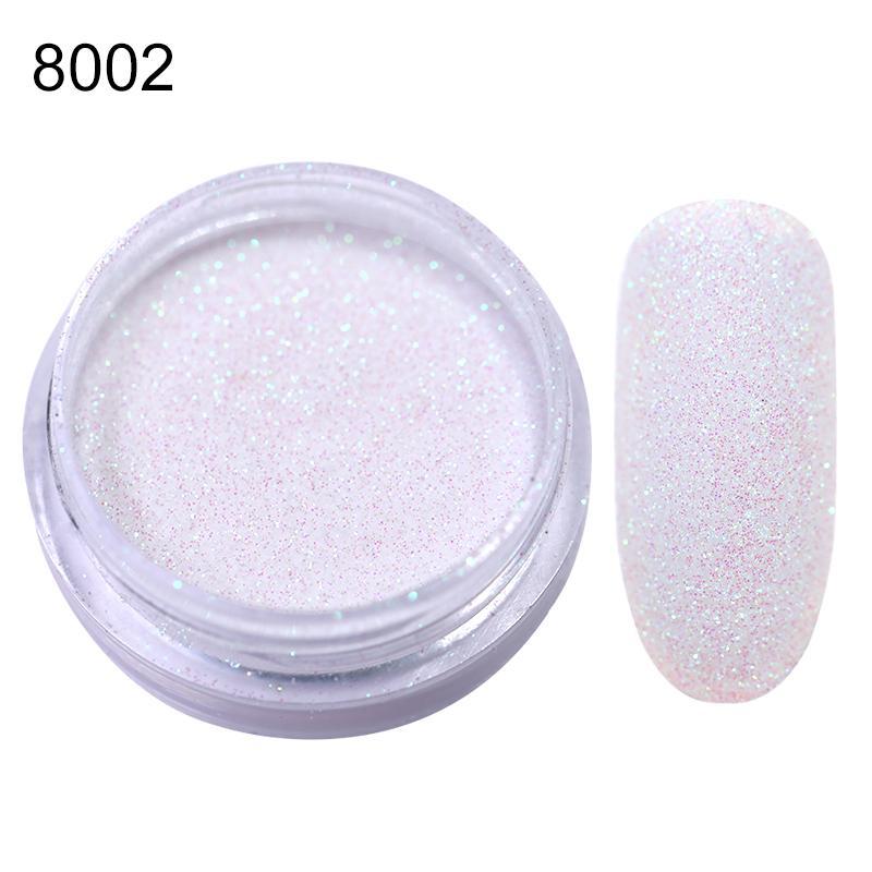 Rose Gold Bubble Mirror Powder Metallic Nail Glitter Holographics Chrome Dust Sparkling Flakes Pigment Manicur Nail Art Decor 27