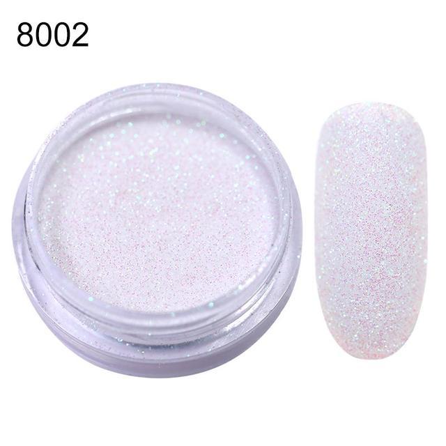 1 Box Glitter Sandy Powder Nail Art Sparkly Rhinestone Pigment Sugar Powder Holo Glitter UV Gel Polish Decor DIY Nails Salon