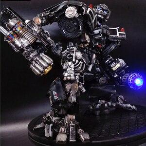 Image 3 - BMB Transformation Robot Black Mamba LS 09 LS09 Ironhide Weapon Expert KO MPM06 MPM 06 Alloy Truck Mode Action Figure Model Toys