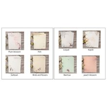 32pcs Home Vintage Writing Letter Paper Retro Writing Stationery School Supplies New