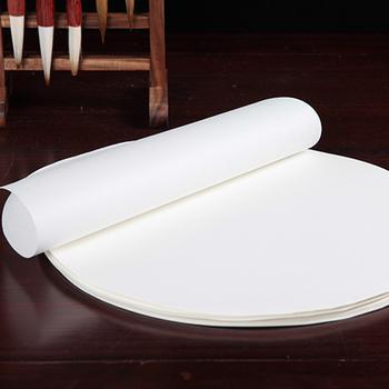100 arkusz opakowanie okrągły chiński papier ryżowy do malowania kaligrafii surowego Xuan papieru sztuki malowania dostaw tanie i dobre opinie TAI YI HONG Malarstwo papier Chińskie malarstwo EH-0759