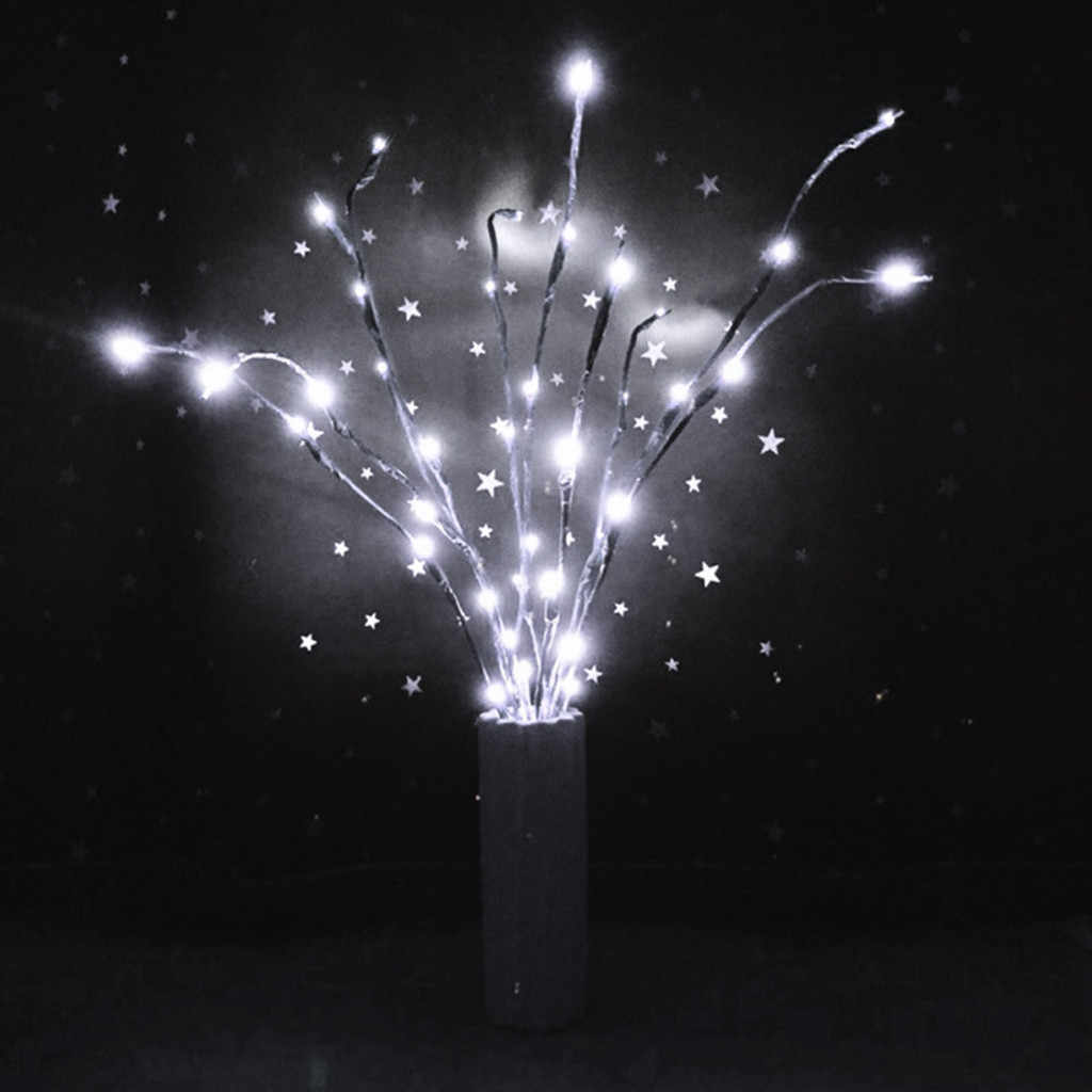 Party Decor Light LED Willow Tak Lamp Bloemen Verlichting 20 Lampen Home Christmas Party Garden Decor Woonkamer Vaas Bloem