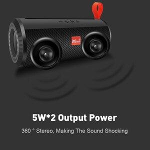 Image 2 - M&J Wireless Bluetooth portable Speaker Stereo Subwoofer column loudspeaker+TF Built in Mic Bass FM USB MP3 Sound Boom Box