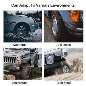 Image 5 - Système de surveillance dalarme de pression des pneus de voiture TPMS dénergie solaire de E ACE