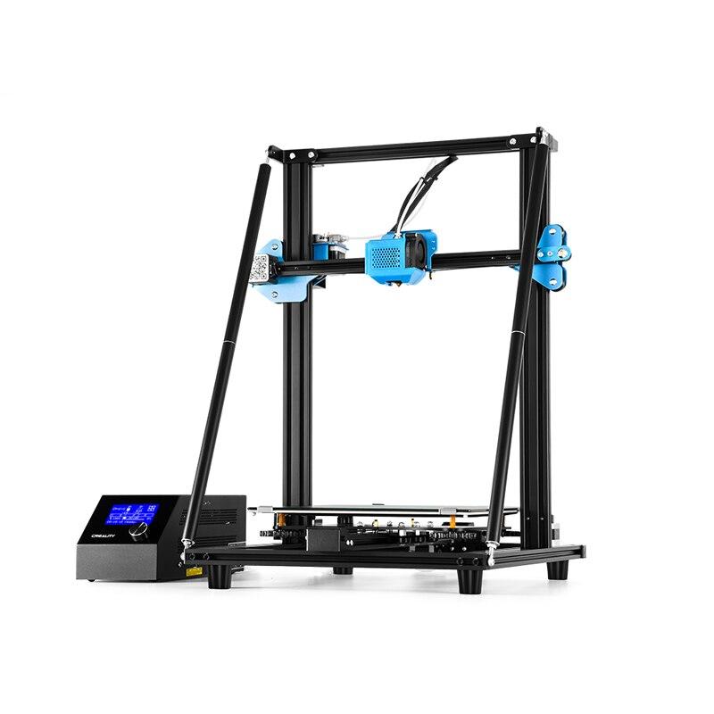 Оригинальный CREALITY CR-10 V2 3D принтер, полностью металлический набор для самостоятельной сборки, бесшумная материнская плата, дополнительный и...