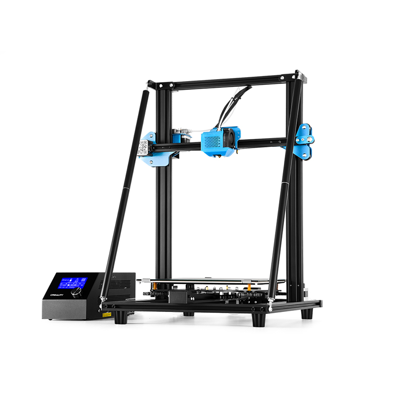 Upgrade Vision CREALITY 3D CR-10 V2 3D Printer With Silent Mainboard Resume Print Meanwell Power Supply