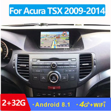 Android 10.0 ROM32GB Quad core pour Acura Tsx 2009-2014 autoradio GPS Navigation lecteur radio multimédia HD