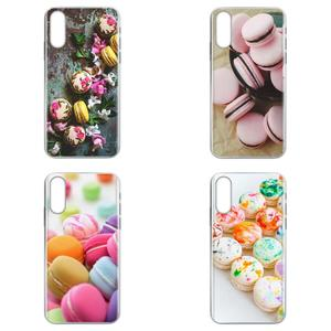Dessert Ice Cream Laduree Macarons For LG G7 ThinQ G5 G6 K50 K40 K8 Q7 Q60 V40 V30 V20 V10 2018 Power 2 3Q Stylus Soft Covers
