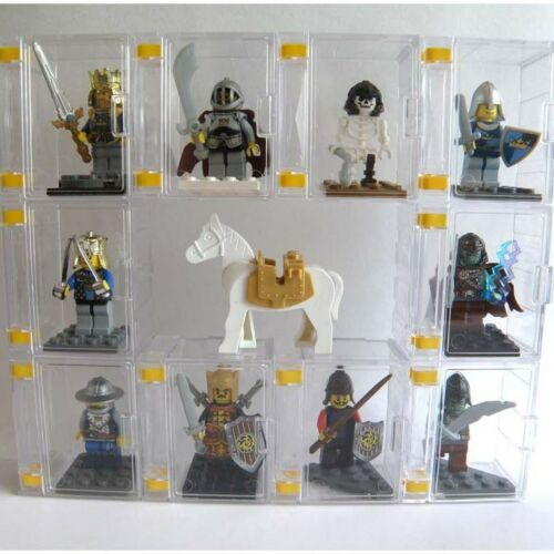 "/""NEW/"" lego minifigures display case /& figures case CASE ONLY 100pcs"