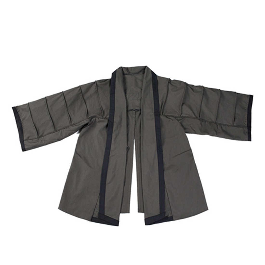 BACRAFT 야외 전술 코트 훈련 망토 전투 Haori Jacket - Smoke Green M