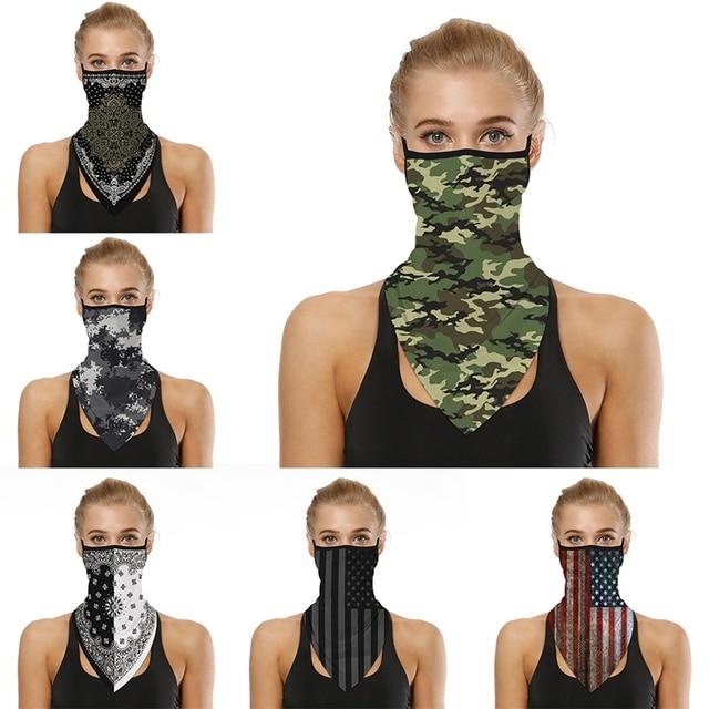 Women's Men's Solid Color Multi-function Seamless Quick-drying Visor Anti-sweat Belt Bandana Camera Protective Sleeve Outdo J 2