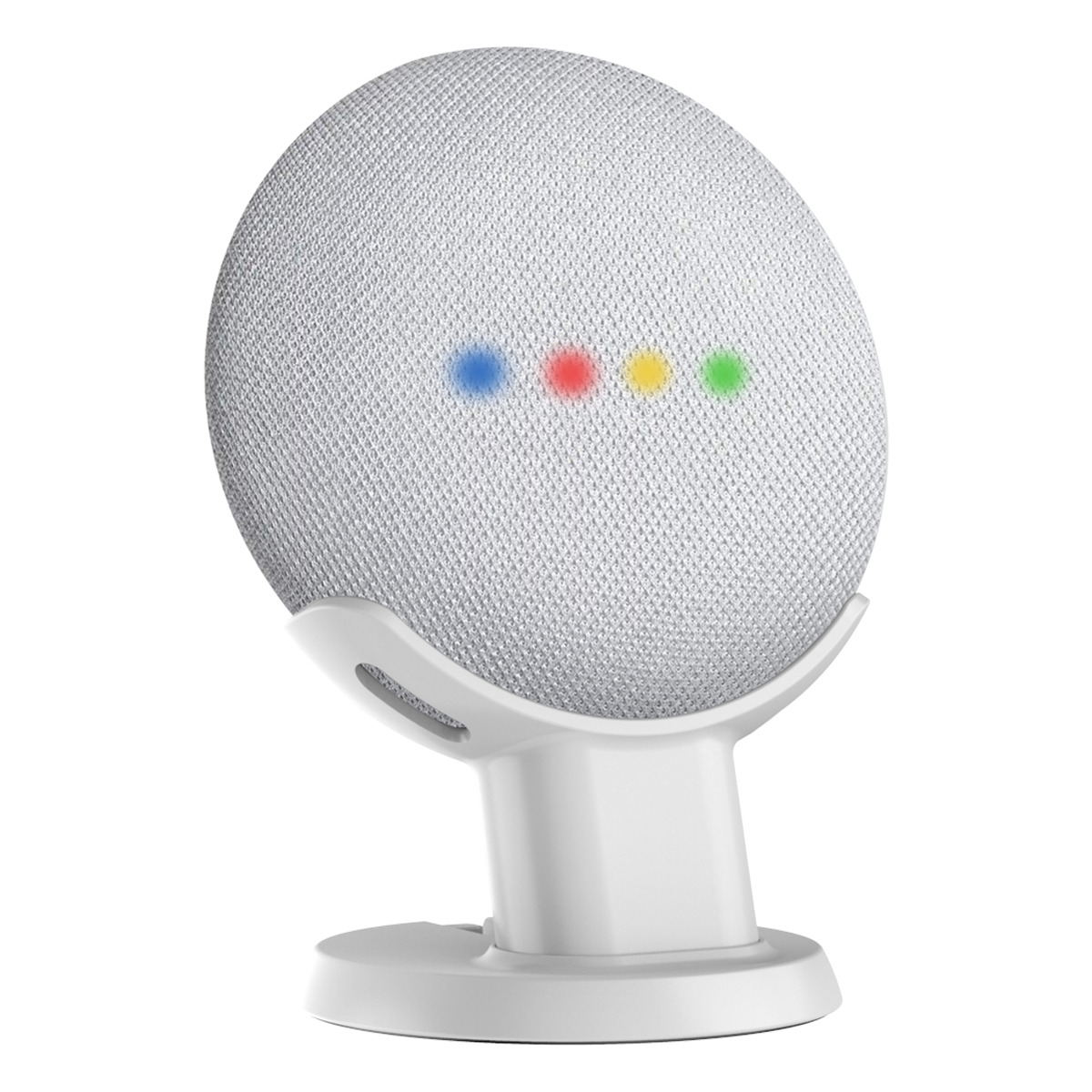 Desktop Stand For Google Home Mini Nest Mini Voice Assistants Compact Holder Case Plug in Kitchen Bedroom Study Audio Mount