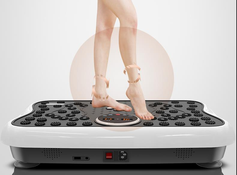Dispositif paresseux de perte de poids secouez la grosse machine brûlant la graisse ceinture mince de taille bras jambes minces taille mince ventre appareil abdominal à redu - 3
