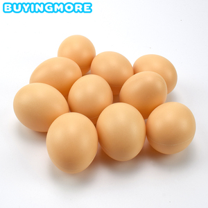 Fake Eggs Toys for Children Kitchen Simulation Egg Model Painting Fun Doodle DIY Plastic Easter Eggs Decoration Educational Toys