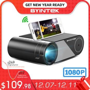 BYINTEK K9 Mini 1280x720P Portable Video Beamer LED Projector Proyector for 1080P 3D 4K Cinema(Option Multi-Screen For Iphone 1