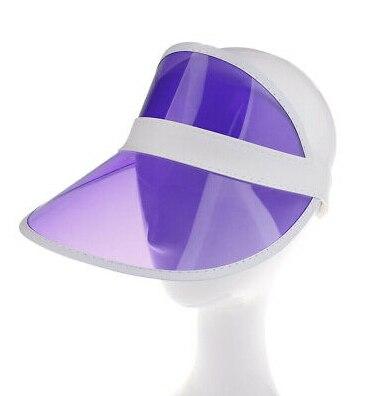 1 шт. летняя повседневная мужская и женская неоновая шляпа солнцезащитный КОЗЫРЕК ГОЛЬФ Спортивная теннисная Кепка Солнцезащитная шапочка, Кепка - Цвет: Фиолетовый