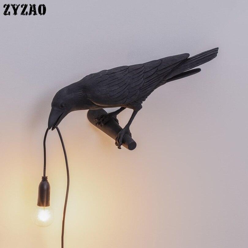 Nordic Designer Vogel Lamp Tafel Lampen voor Woonkamer Cartoon Geschenken Kinderen Studeerkamer Home Decor Art LED Tafel Licht armaturen - 3