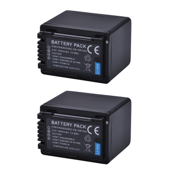 3900mAh VW-VBT380 VW VBT380 Battery for Panasonic VW-VBT190 Battery VW-VBT190 HC-V720 HC-V727 HC-V730 HC-V750 HC-V757 HC-V760