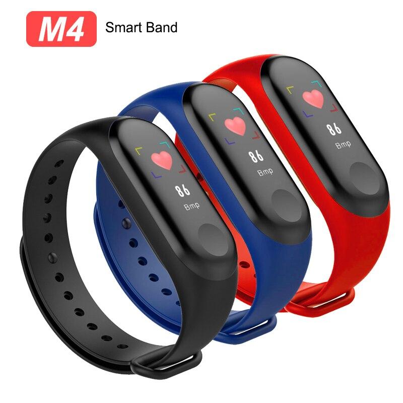 M4 Smart Band Fitness Tracker Uhr Sport Armband Herz Rate Blutdruck Smartband Monitor Gesundheit Smart Armband für Erwachsene