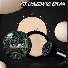 SUNISA Грибная головка на воздушной подушке CC крем увлажняющий тональный крем Воздухопроницаемый Осветляющий консилер BB крем для макияжа cosmticsTSLM1