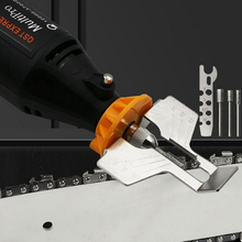 Grinding Chain sharpener Special Chainsaw Grinding Tool Mini Drill Saw Sharpening Attachment Sharpener Drill Rotary Power Tool
