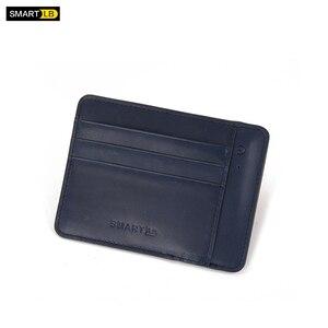 Чехол-кошелек для Для мужчин на открытом воздухе бизнес путешествия посылка с держатель для карт анти-потерянный Bluetooth сумка для денег, коро...