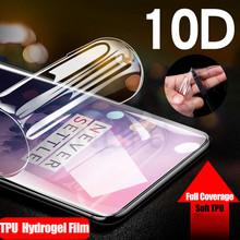 10D przód z przejrzystym tyłem silikonowa miękka folia hydrożelowa do OnePlus Nord(8 NORD) 7 7T 8 Pro 8T 7 6T 6 5T 3T przezroczysta osłona na ekran z TPU tanie tanio Alivo CN (pochodzenie) Clear Front and Back 10D Full Screen Protector Soft TPU Film (Not Glass) For OnePlus 7 Pro 7 6T 6 5T 5 3 3T