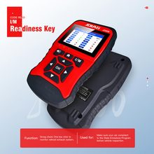 цена на VVVIST Scanner OBD2 & CAN Car Diagnostic Tool Auto Code Reader Scan Tools Automotive OBD Universal 12V USB Car Scanner AL519