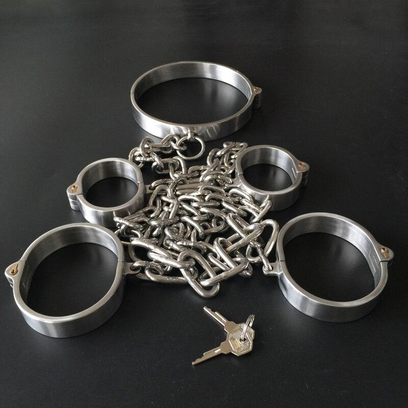 Lockable Bondage Hand Leg Cuffs