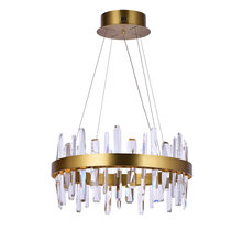 Роскошные гостиная хрустальная люстра освещение ac110v 220v