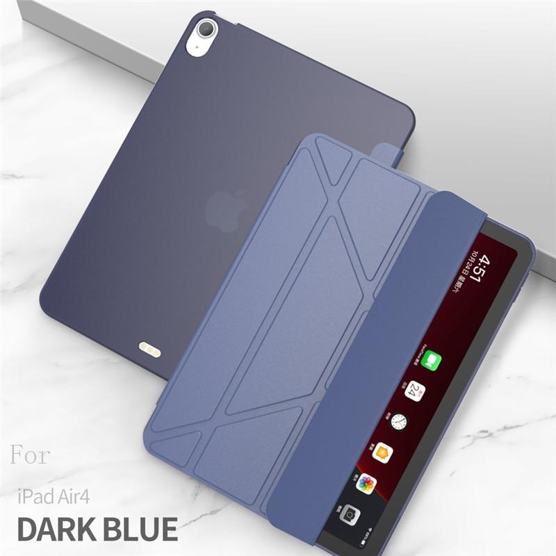 dark blue Navy Blue Case For iPad Air 4 Case 2020 ipad Air 10 9 inch Funda Smart Stand Cover