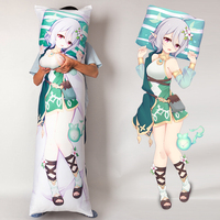 Hot Sales Anime Figures Real Feel D Cup Silicone Breast Body Dakimakura 3D Print Hug Pillow Case
