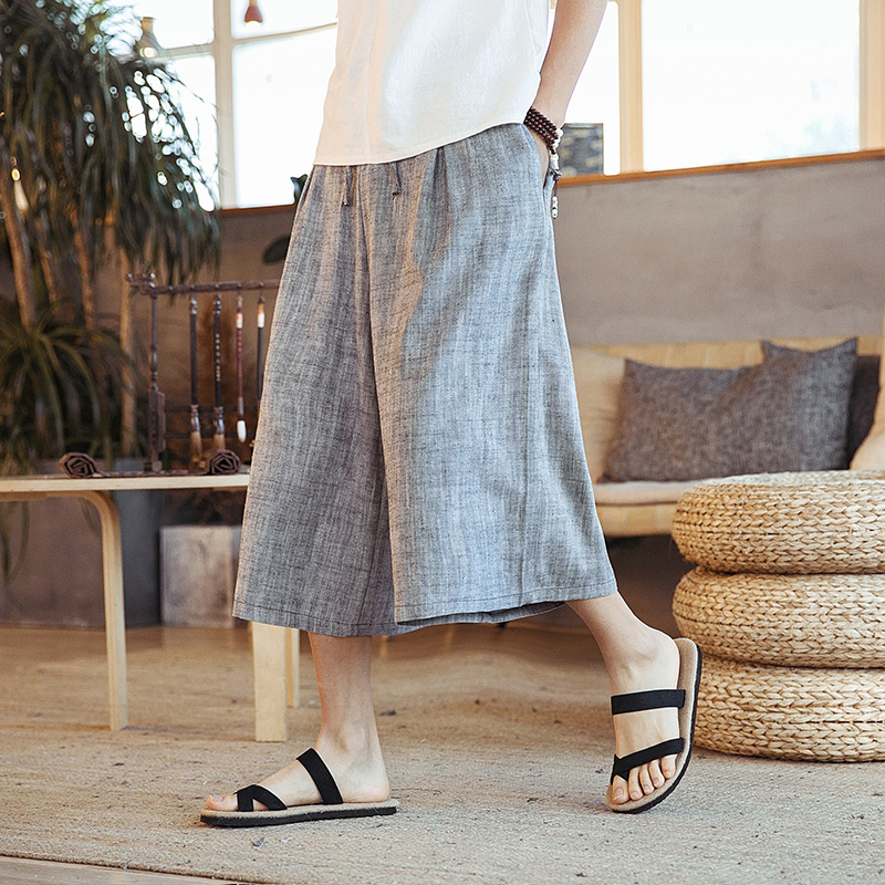 Beach Casual Men Shorts Big Plus Sizes Men Sport Harem Shorts Baggy Streetwear Cotton Hip Hop Kleding Mens Clothing XX60MS