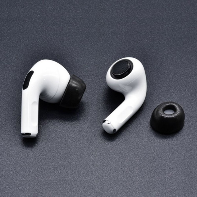Earbud <font><b>Tips</b></font> For Apple <font><b>Airpods</b></font> Pro Memory Foam Replacement <font><b>Ear</b></font> <font><b>Tips</b></font> Earbuds Compatible With <font><b>Airpods</b></font> Pro Headphones image