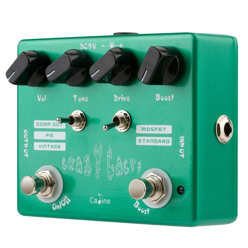 Caline CP-20 Crazy Cacti Overdrive Guitar Effect Pedal True Bypass Effects Guitar Accessories