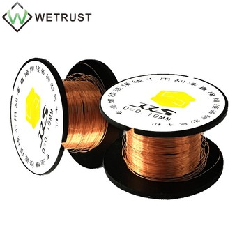 SUNSHINE 0.1MM Pure Copper Wire BGA Desoldering Wire Absorption Wire for Phone Motherboard PCB Fingerprint Soldering Repair image