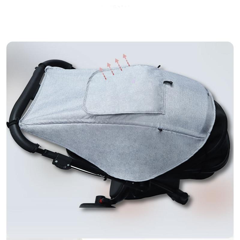 Солнцезащитный коляску, аксессуар для автомобильного сиденья, защита от УФ-лучей, дышащий универсальный чехол для защиты глаз 6