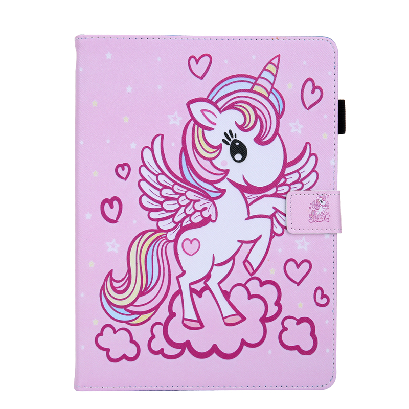 C Blue Tablet Cover For Apple IPad Air 4 10 9 inch 2020 Cartoon Leather Case For Ipad