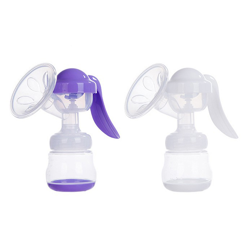 Manual Breast Pump  Breastfeeding  Baby Feeding Feeding Milk Bottles Breasts Pumps Bottle Sucking Portable Silicone