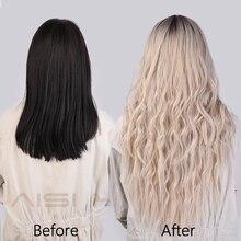 Long Wavy Ombre Blonde Wig