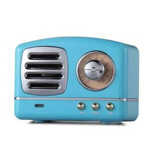 Image 1 - Taşınabilir hoparlör Bluetooth hoparlör Mini Retro kablosuz hoparlörler radyo USB/TF kart müzik çalar HIFI Subwoofer Bluetooth 4.1