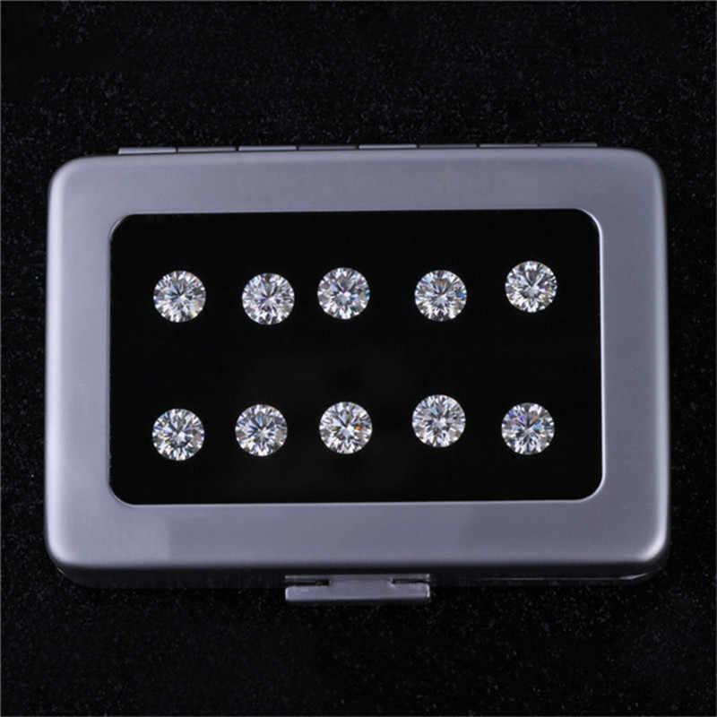5mm bis 8mm 8 Herz & Pfeil Gute Qualität Moissanite Perlen Brilliant Cut Funkelnden Lose Moissanites Stein Diamant ring DIY Schmuck