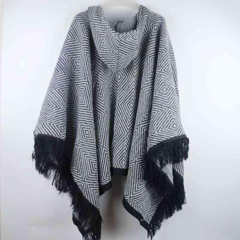 겨울 코트 여성 여성 판초 2019 한국어 streetwear 긴 망토 가을 두꺼운 따뜻한 판초와 케이프 숙녀 capa lw908