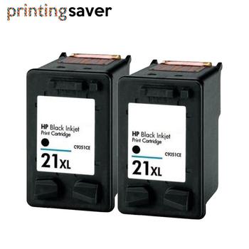 2BK czarny wkład atramentowy zamiennik dla hp deskjet f380 21 22 dla hp 21 21xl Deskjet F200 F380 F2180 F2280 F4180 F2200 F300 D1500 tanie i dobre opinie printing saver Pełna HP21XL HP22XL 21XL 22XL 21 22 Re-produkowane HP Inkjet Black Colour With chip Deskjet 2149 2180 3747 3900 3910 3915 3918 3920